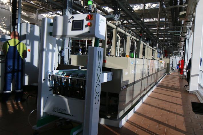 Установка горизонтальной металлизации печатных плат