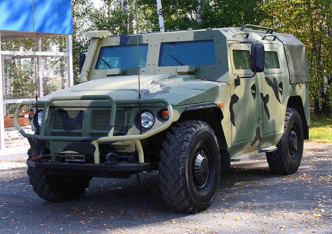 """""""Тигр 6А"""" - бронеавтомобиль с повышенным классом защиты"""