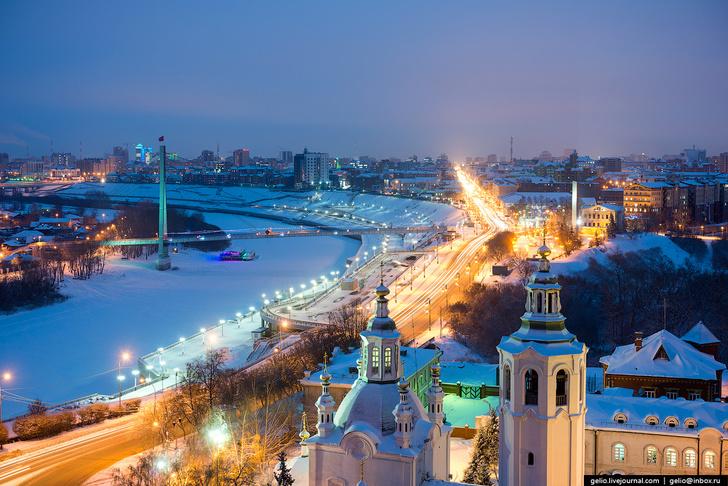 Опубликован рейтинг городов России по качеству жизни