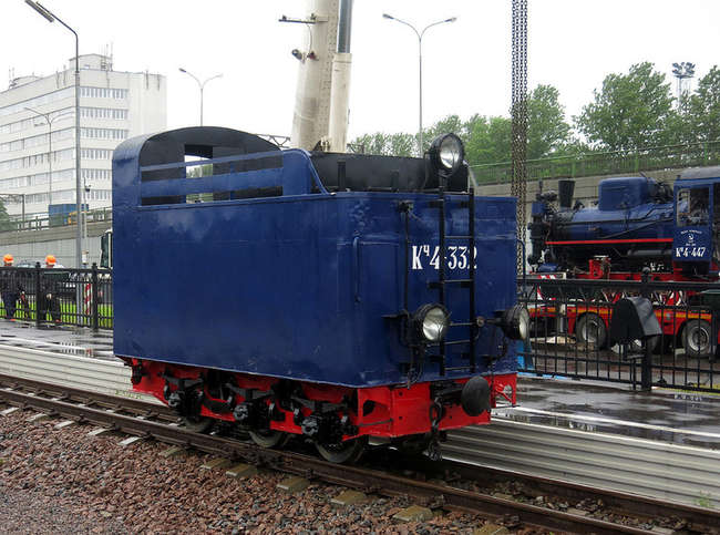 Тендер паровоза Кч4-332