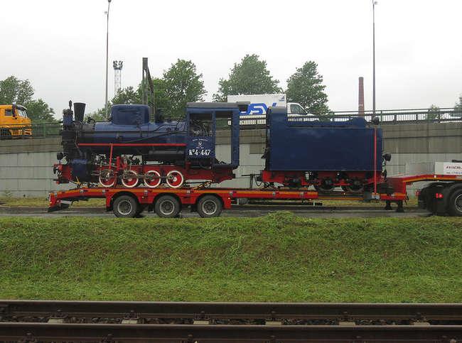 Паровоз Кп4-447