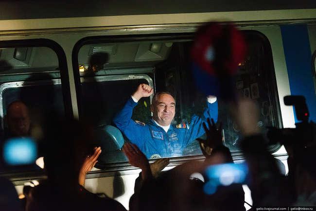 Командир ТПК «Союз ТМА-М», бортинженер МКС-39/40, космонавт-испытатель Александр Скворцов.