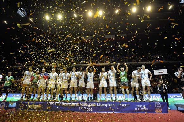 Волейболисты казанского «Зенита» стали победителями Лиги чемпионов
