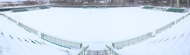 В Томске открыли реконструированный стадион «Темп»
