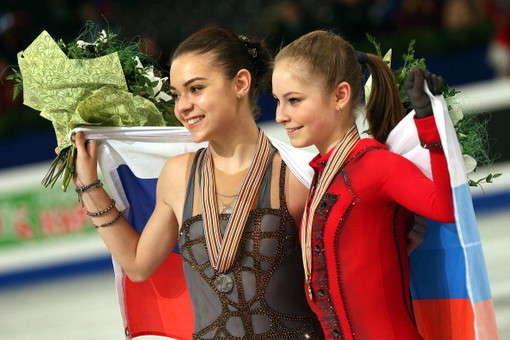 Золотые девочки русского льда