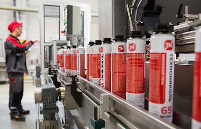 В Рязанской области завершилось строительство завода по производству монтажной пены