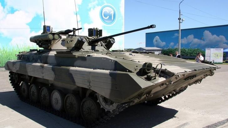 """В артиллерийскую бригаду ЦВО поступили первые БМП-2М с боевым модулем """"Бережок"""""""