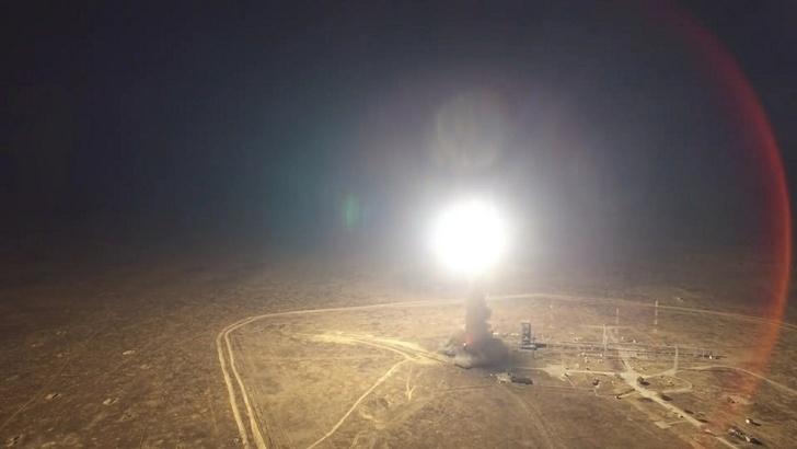 Минобороны провело успешный пуск межконтинентальной баллистической ракеты «Тополь»