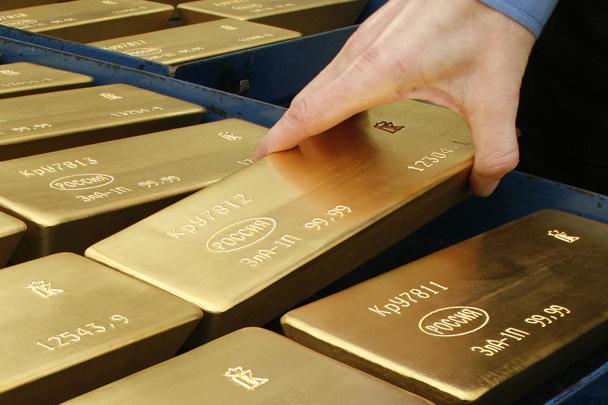 Золотой запас России в мае увеличился на 22 тонны и превысил 1700 тонн