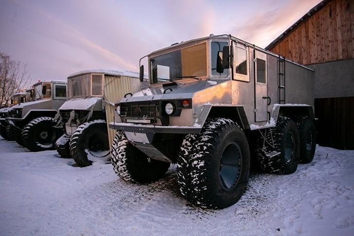 На Урале строят новые вездеходы для научной станции «Восток-2» в Антарктиде