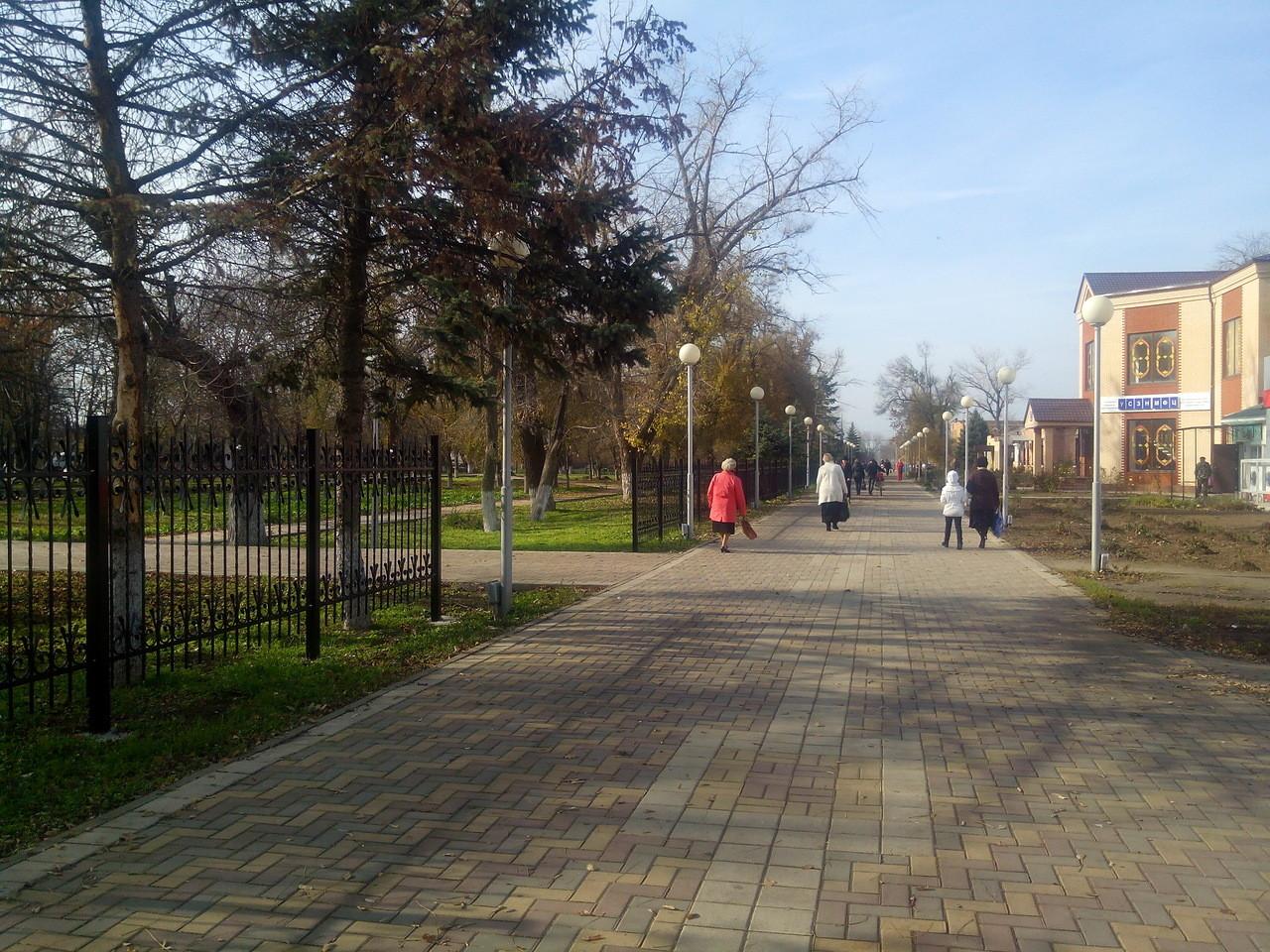Фото поселка целина ростовской области 2