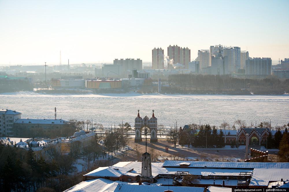 фото благовещенск граница с китаем