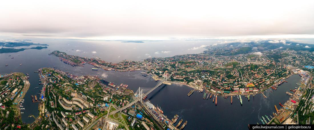владивосток панорамные фото города информация