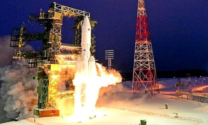 """Первый пуск ракеты тяжелого класса """"Ангара-А5"""""""