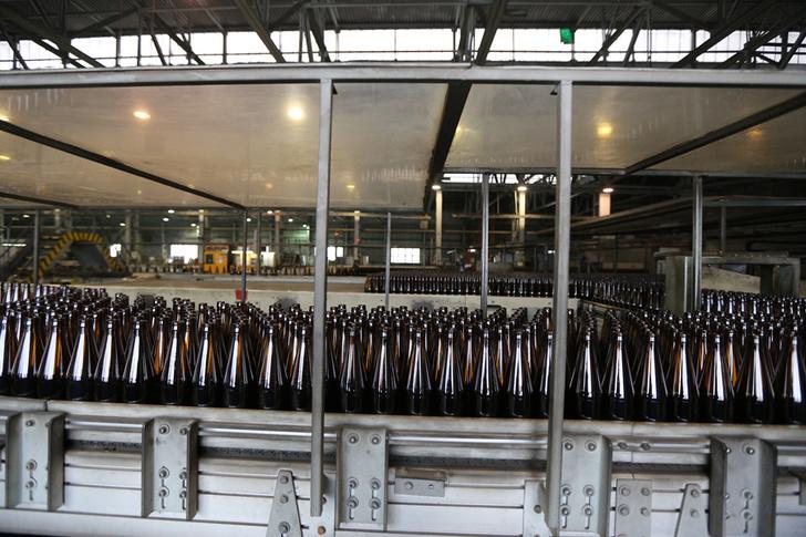 Линия производства стеклянных бутылок запущена в Новосибирске