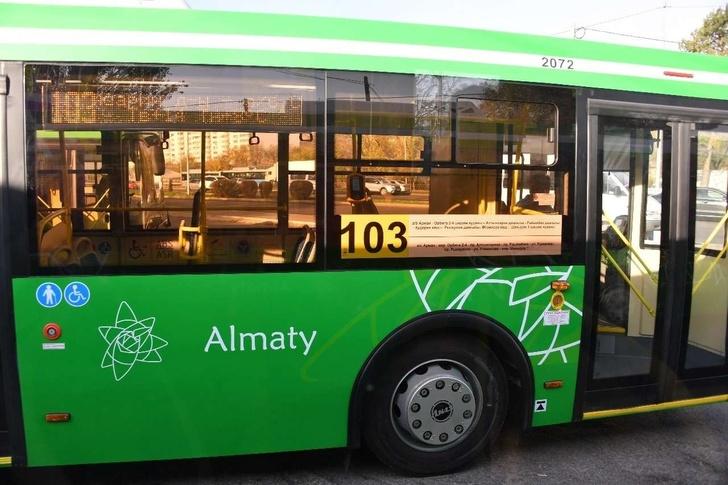 На дороги южной столицы выпустили 12-метровые автобусы