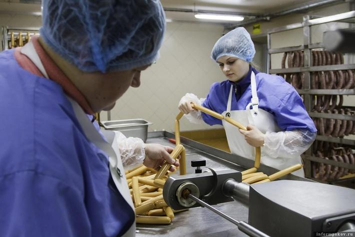 В Псковской области цех по переработке мяса ООО «ПсковАгроИнвест» вышел на полную мощность