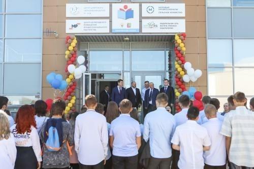 Четыре новые школы открылись 1 сентября в Воронежской области