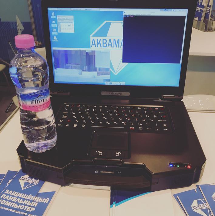 Первый Эльбрус-8СВ и защищенный ноутбук на Эльбрус-1С+ от компании «Аквамарин»