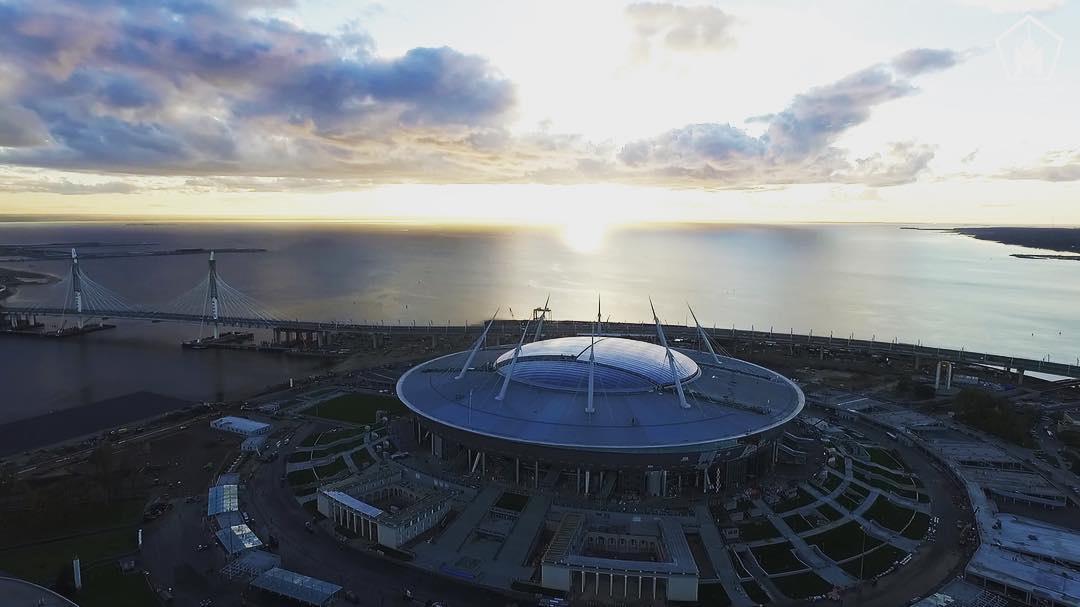 стадиона фото крестовский трибун