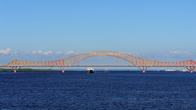 фото сургутский мост через обь