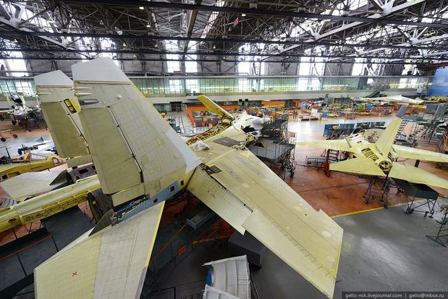 Иркутский авиазавод. Производство истребителя Су-30 и учебно ...
