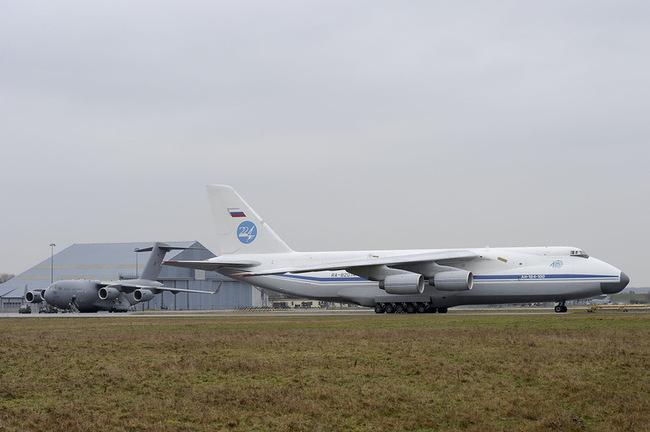 C17 GB et Antonov 125 russe
