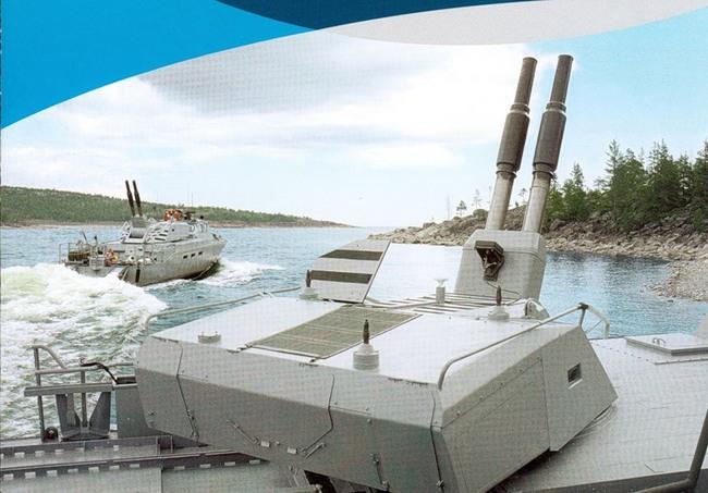 Швеция-катер-Combatboat 90H с миномётами
