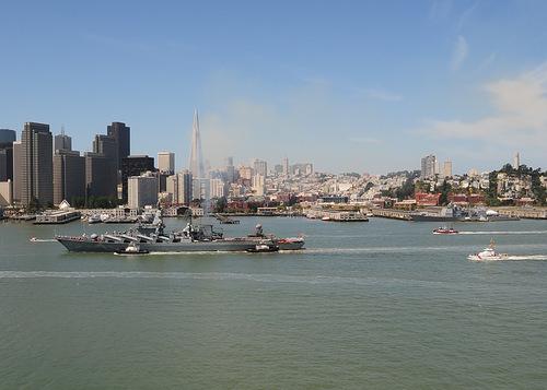 Россия-крейсер-Варяг в Сан-Франциско