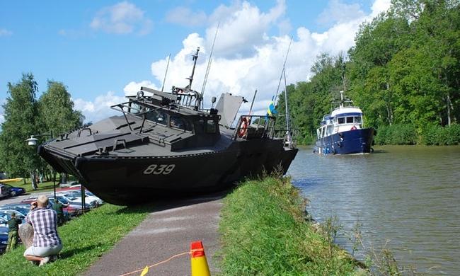 Швеция-десантный катер-Combatboat 90H 839