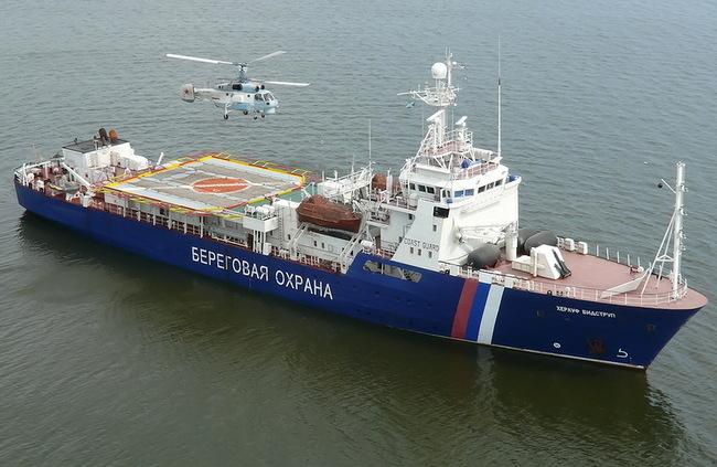 Россия-пограничный корабль-Херлуф Бидструп