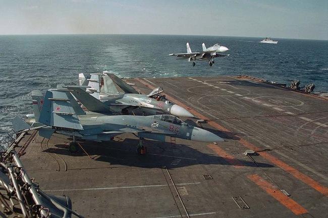 Россия-авианосец-Кузнецов