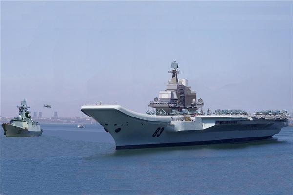 Китай-авианосец-Ляонинг