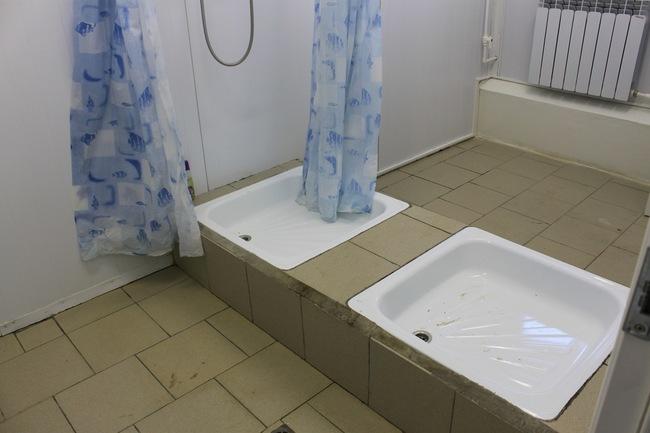Потом принимаем душ и переодеваемся