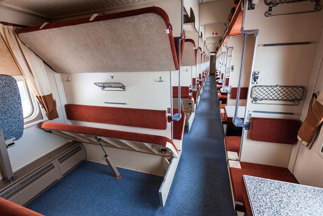 Категории вагонов и расположение мест в поезде