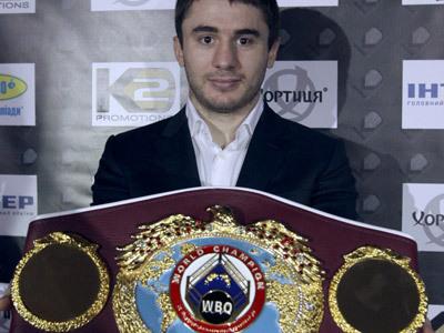 Заурбек Байсангуров, действующий чемпион мира по версии WBO