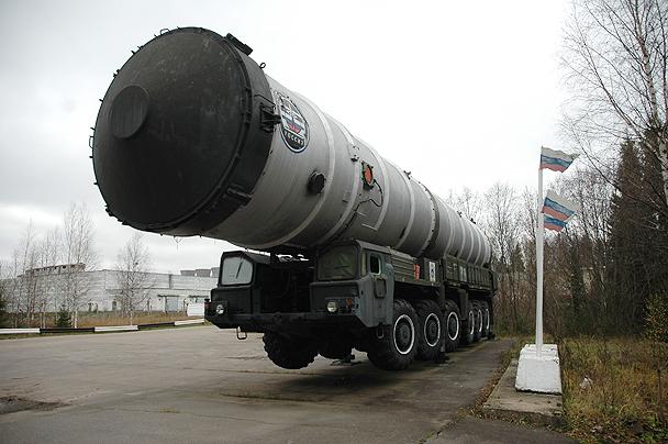 Транспортный контейнер для противоракеты.