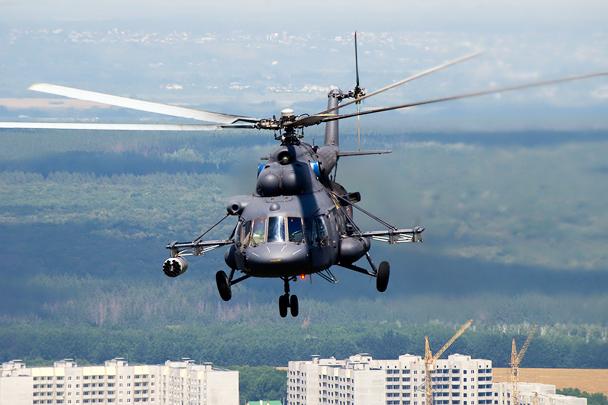 Ми-8МТВ-5-1 в воздухе