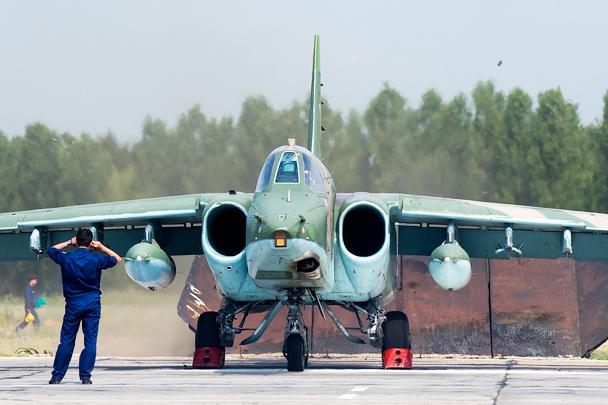 Су-25СМ готов к полету