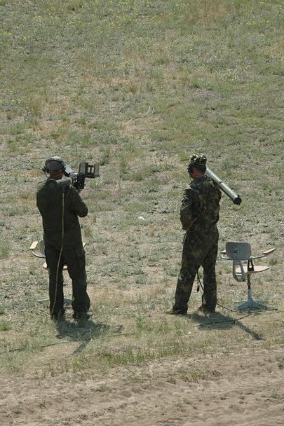 Одной из задач участников соревнований было преодоление ПВО условного противника