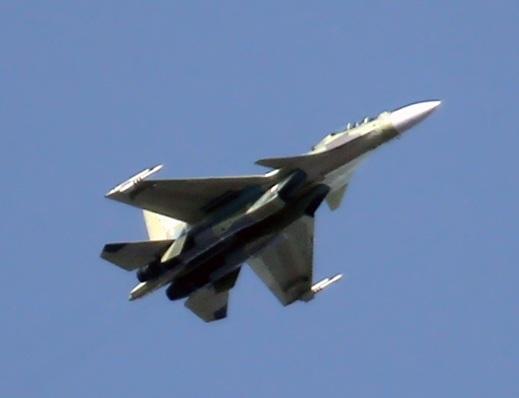 Новый истребитель Су-30СМ. Иркутск, 05.10.2013