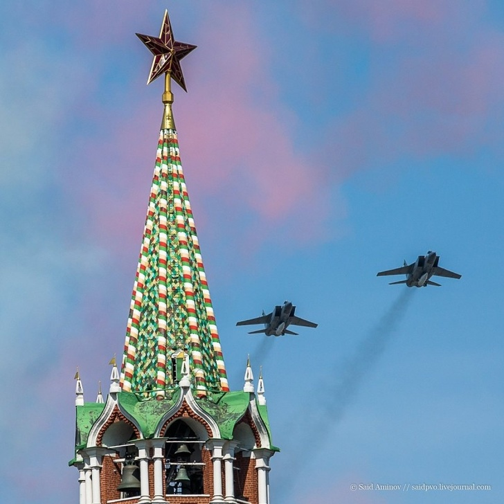 """МиГ-31БМ(К) с аэробаллистической ракетой """"Кинжал"""""""