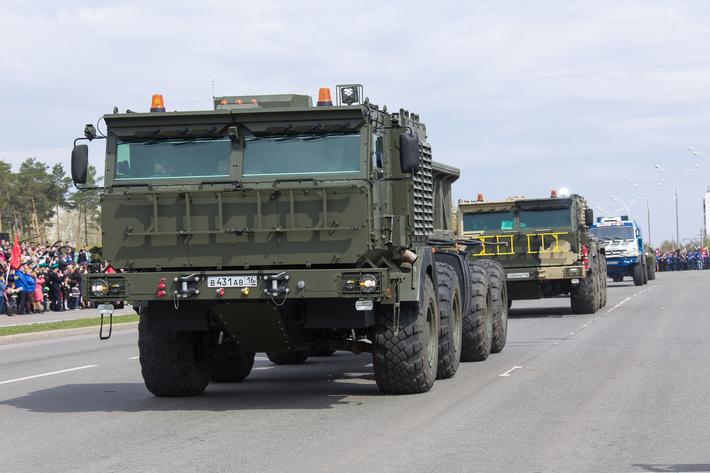 """Шасси К-7350 8х8 для установки различного целевого оборудования (с) АО """"Ремдизель"""""""