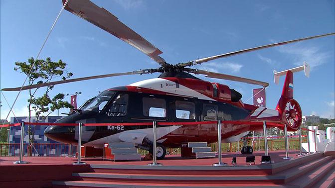 Продемонстрирован второй летный прототип вертолета Ка-62