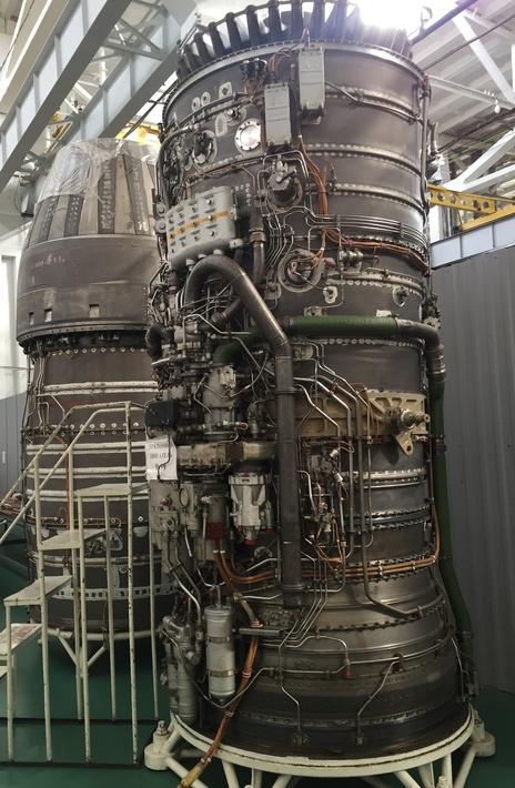Эталонный двигатель НК-32, собранный уже после 1993 года. Причем серии 02 (с) bmpd