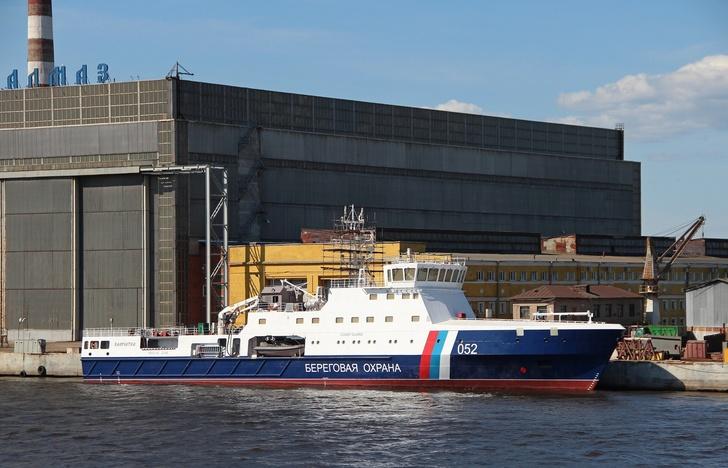 Пограничное патрульное судно «Камчатка» спущено на воду