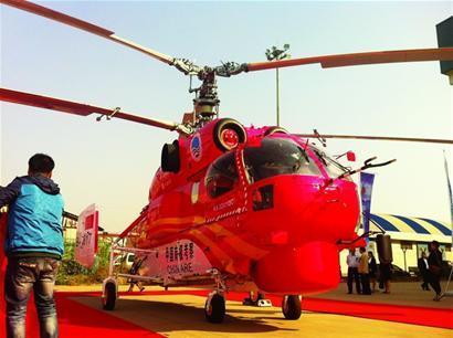 Полученный Государственным океанографическим управлением КНР вертолет Ка-32А11ВС. Циндао, 09.10.2013