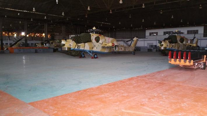 Первые четыре боевых вертолета Ми-28НЭ, поставленные Алжиру (с) dr. watson / www.forcesdz.com