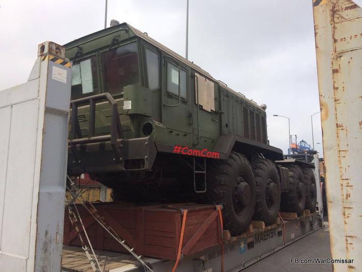 Один из полученных Вьетнамомколесных тягачей КЗКТ-7428 (с) www.facebook.com/WarComissar