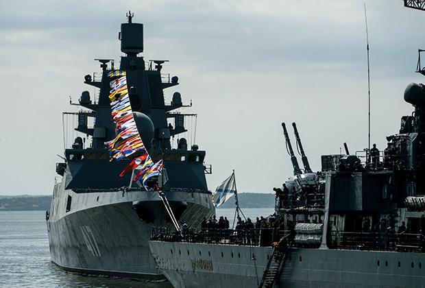 Фрегат «Адмирал Горшков» проекта 22350